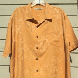 Tropical Orange Tommy Bahama Button Up